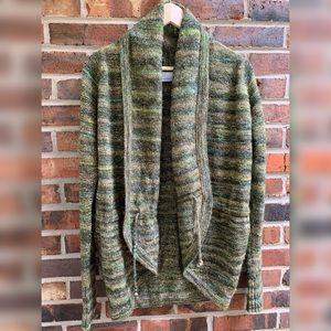 Columbia Sweater Cardigan (Green)
